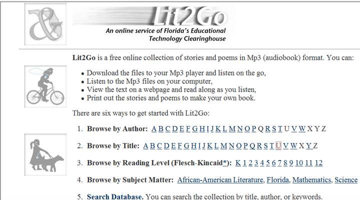 Free Online Audio Book Collection | On the Web with Roz Linder