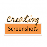 Creating Screenshots Video Tutorial