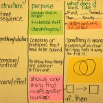 Interactive Anchor Charts for Teaching Text Structure (standard 5)