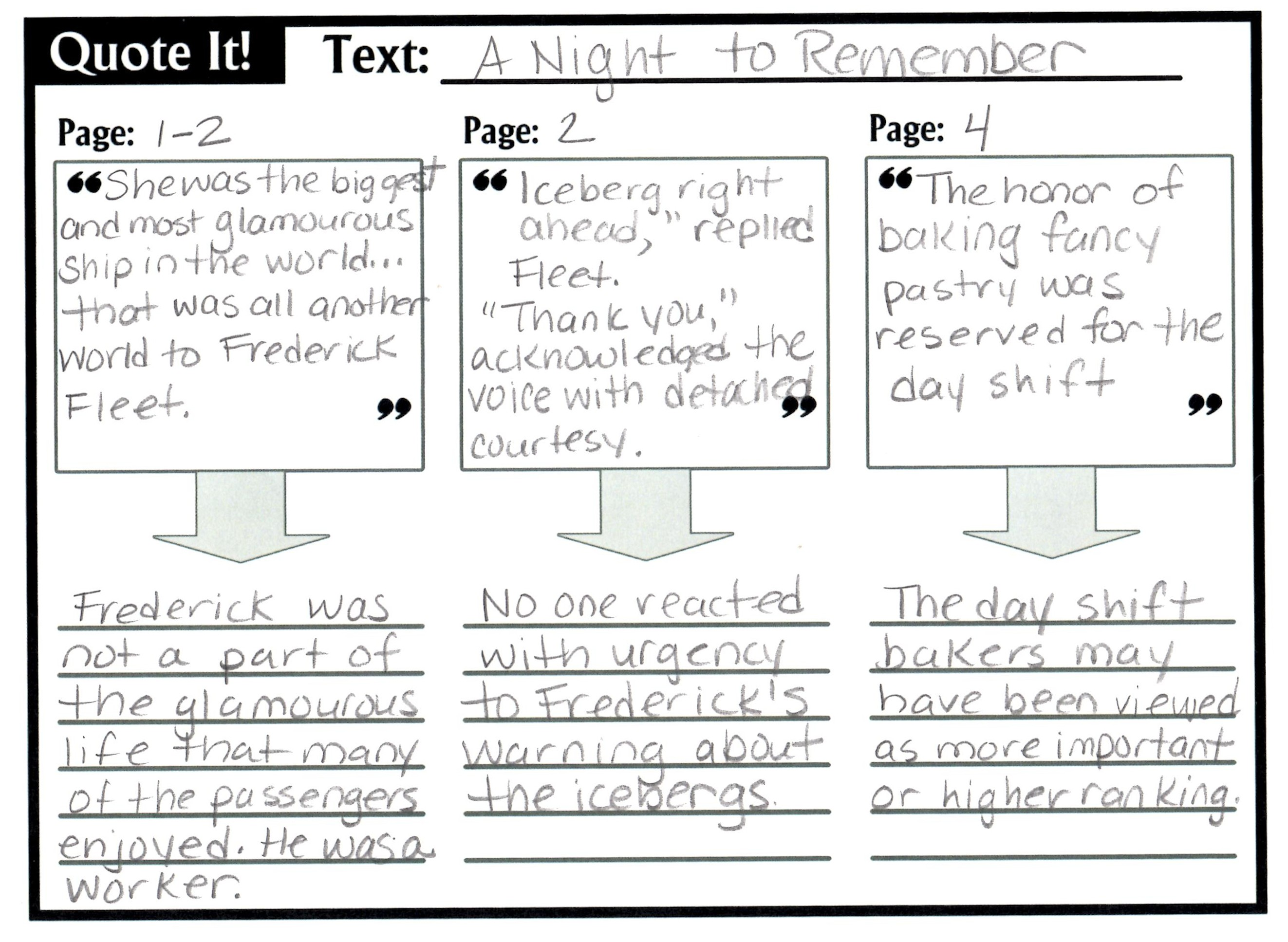 worksheet Citing Text Evidence Worksheets graphic organizer practicing textual evidence on the web with roz quoteit1