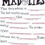 Narrative Summary Mad Libs