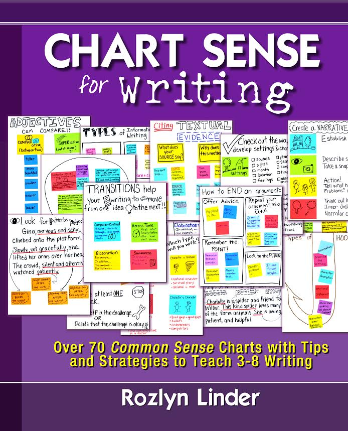 chart sense for writing cover