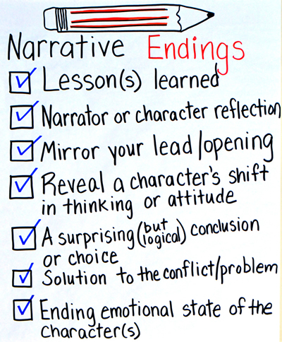 3 Narrative Endings